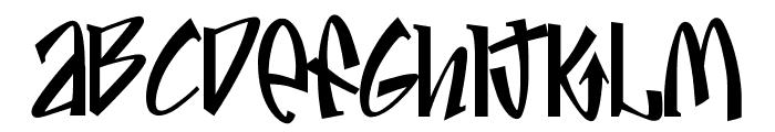 Jive Font LOWERCASE