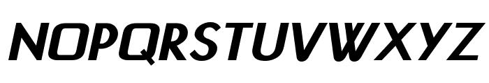 Jivita Bold Italic Font UPPERCASE