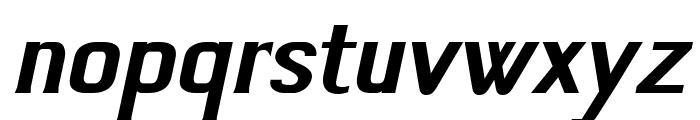 Jivita Bold Italic Font LOWERCASE