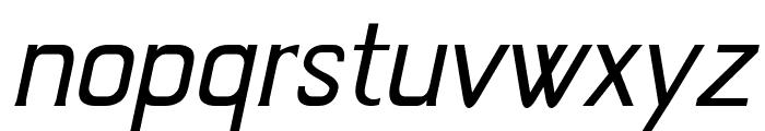 Jivita Italic Font LOWERCASE
