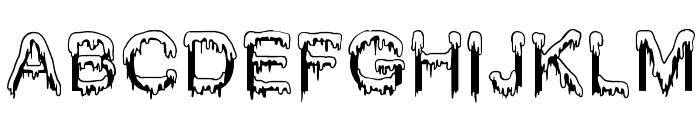 Jizz Mass creamy Font LOWERCASE