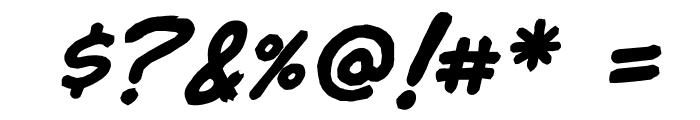 jibbajabba Bold Font OTHER CHARS