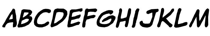 jibbajabba Bold Font LOWERCASE
