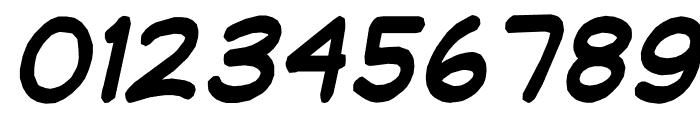 jibbajabba ExtraBold Italic Font OTHER CHARS