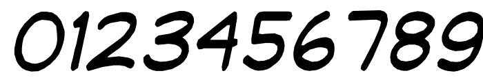 jibbajabba Italic Font OTHER CHARS