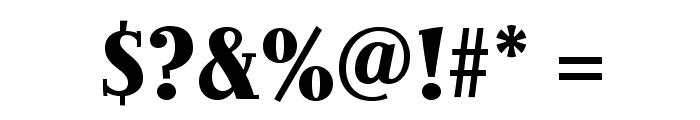JimboStd-BoldCondensed Font OTHER CHARS