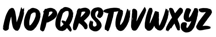 Jive Talk Font UPPERCASE