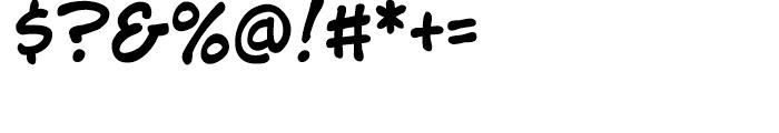 Jim Lee Intl Regular Font OTHER CHARS