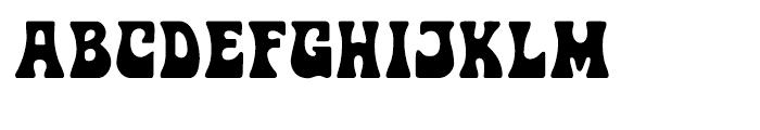 Jimi Regular Font UPPERCASE