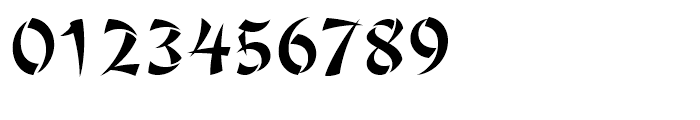 Jing Jing Regular Font OTHER CHARS