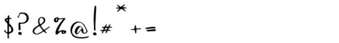 Jiguliny Regular Font OTHER CHARS