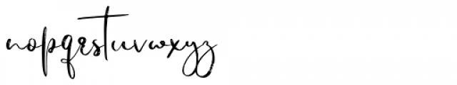 Jiguliny Regular Font LOWERCASE