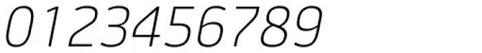 Jiho Extra Light Italic Font OTHER CHARS