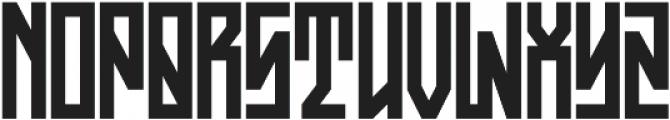 JKR - ASFALTO ALTERNATE otf (400) Font UPPERCASE