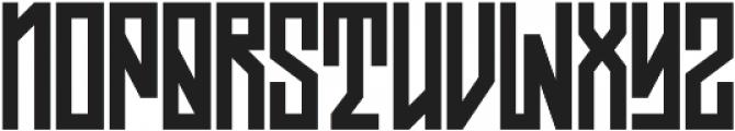 JKR - ASFALTO ALTERNATE otf (400) Font LOWERCASE