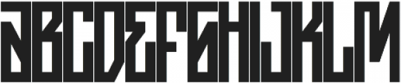 JKR - ASFALTO otf (400) Font LOWERCASE