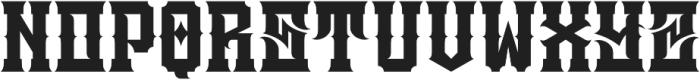 JKR - ATRACO ALTERNATE otf (400) Font UPPERCASE