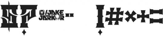 JKR - ATRACO otf (400) Font OTHER CHARS