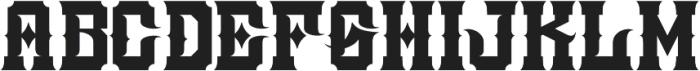 JKR - ATRACO otf (400) Font LOWERCASE