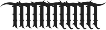 JKR - BANDIDOS ALTERNATE OF T otf (400) Font UPPERCASE
