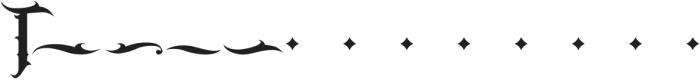 JKR - BANDIDOS ALTERNATE OF T otf (400) Font LOWERCASE