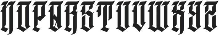 JKR - DEMENTE ALTERNATE otf (400) Font LOWERCASE