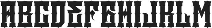 JKR - DEMOLICI Font UPPERCASE