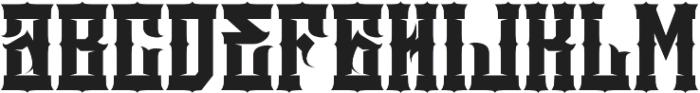 JKR - DEMOLICI Font LOWERCASE