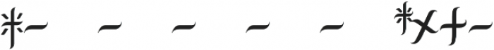 JKR - FURIA otf (400) Font OTHER CHARS