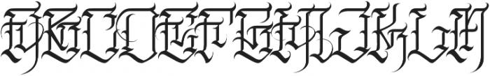 JKR - FURIA otf (400) Font UPPERCASE