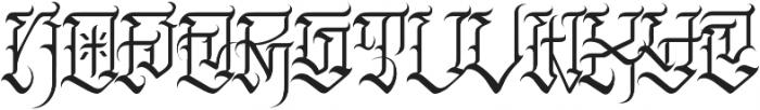 JKR - FURIA otf (400) Font LOWERCASE