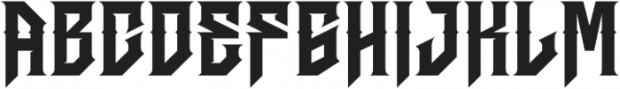 JKR - HERMANDAD ALTERNATE WESTERN otf (400) Font UPPERCASE