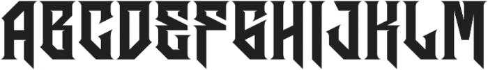 JKR - HERMANDAD ALTERNATE otf (400) Font LOWERCASE