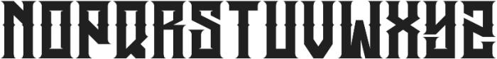 JKR - HERMANDAD WESTERN otf (400) Font LOWERCASE