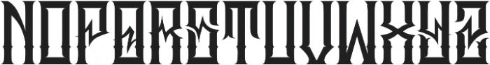 JKR - MADRIZA ALTERNATE otf (400) Font UPPERCASE