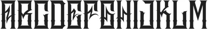 JKR - MADRIZA ALTERNATE otf (400) Font LOWERCASE