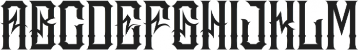 JKR - MADRIZA otf (400) Font UPPERCASE