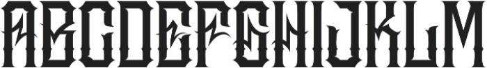 JKR - MADRIZA otf (400) Font LOWERCASE