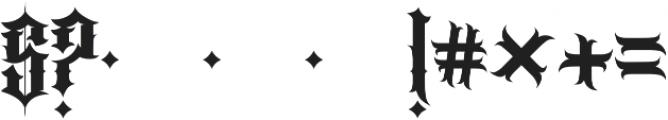 JKR - PERROS otf (400) Font OTHER CHARS