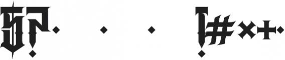 JKR - RABIA otf (400) Font OTHER CHARS