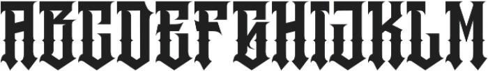 JKR - RABIA otf (400) Font UPPERCASE