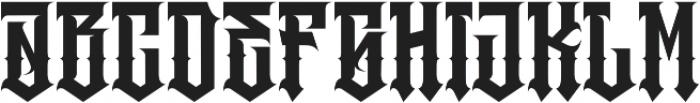 JKR - RABIA otf (400) Font LOWERCASE
