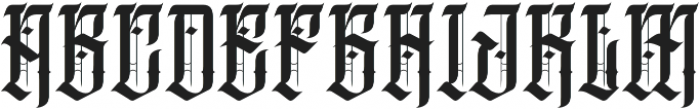 JKR - TEQUILERO otf (400) Font UPPERCASE