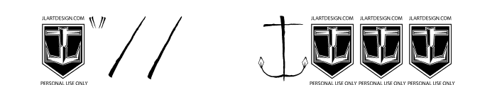 JL357_SET SAIL Font OTHER CHARS