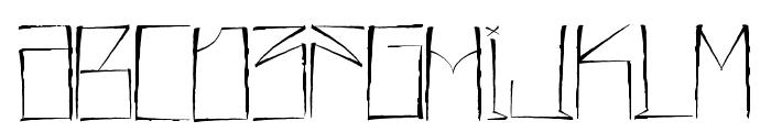 JL357_SET SAIL Font UPPERCASE