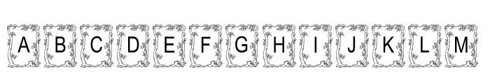 JLR Autumn2000 AH Font UPPERCASE