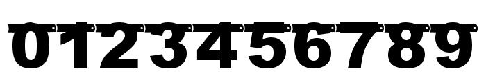 JLR Birthday Banner Font OTHER CHARS