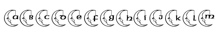 JLR Celestial Font UPPERCASE
