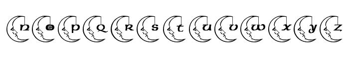 JLR Celestial Font LOWERCASE