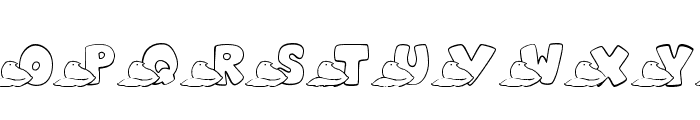 JLR Easter Peeps Font UPPERCASE